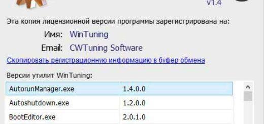 (Repack) WinTuning 1.4 Rus